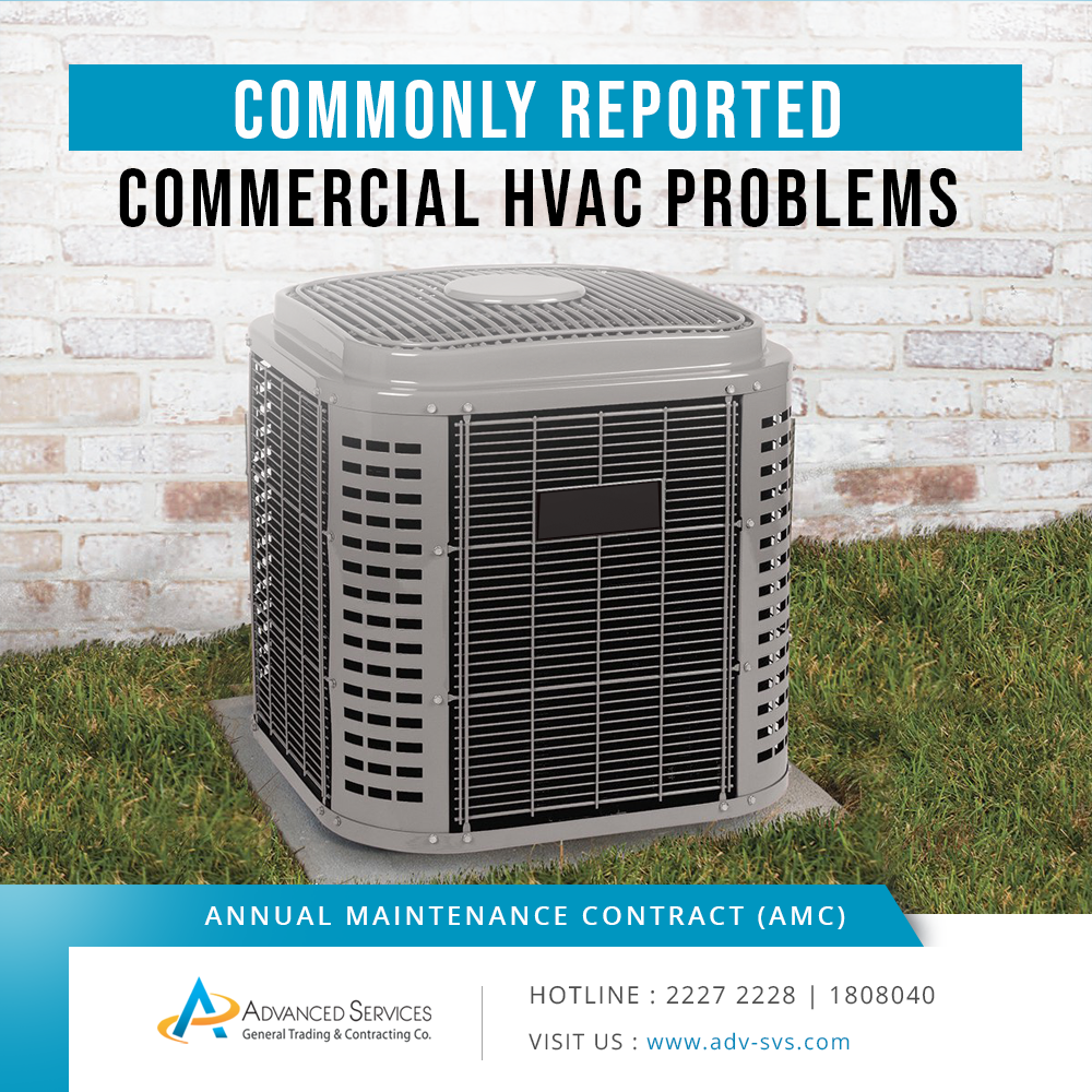 Commonly Reported Commercial Hvac Problems