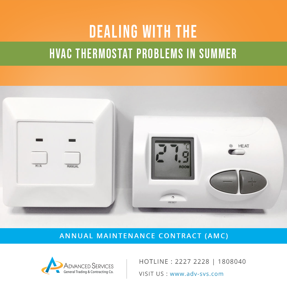 Dealing With The HVAC Thermostat Problems In Summer