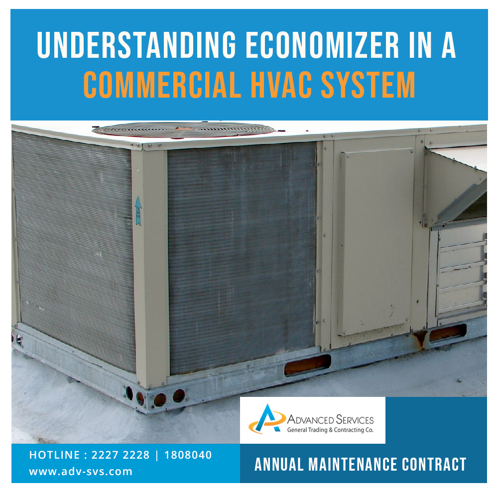 Understanding economizer in a commercial HVAC system