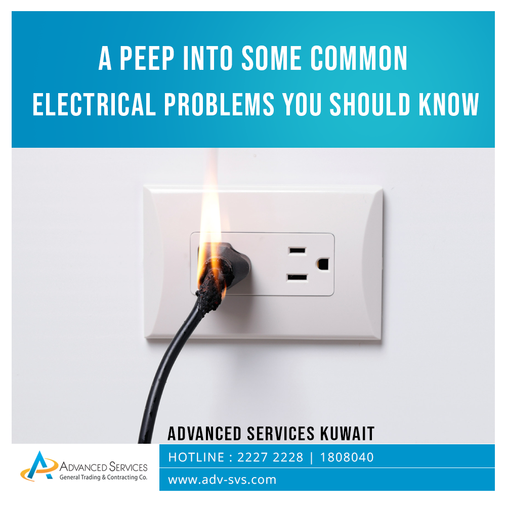 A peep into some common electrical problems you should know