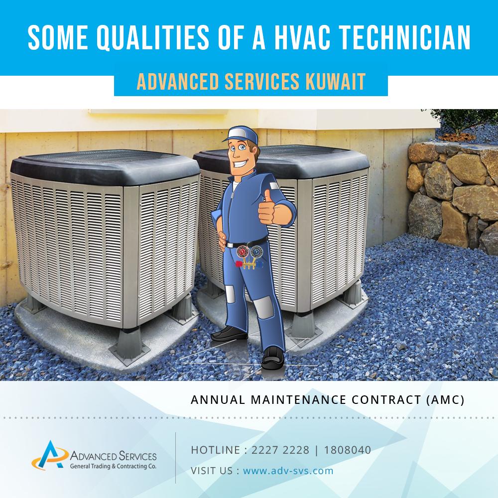 Some qualities of an HVAC technician