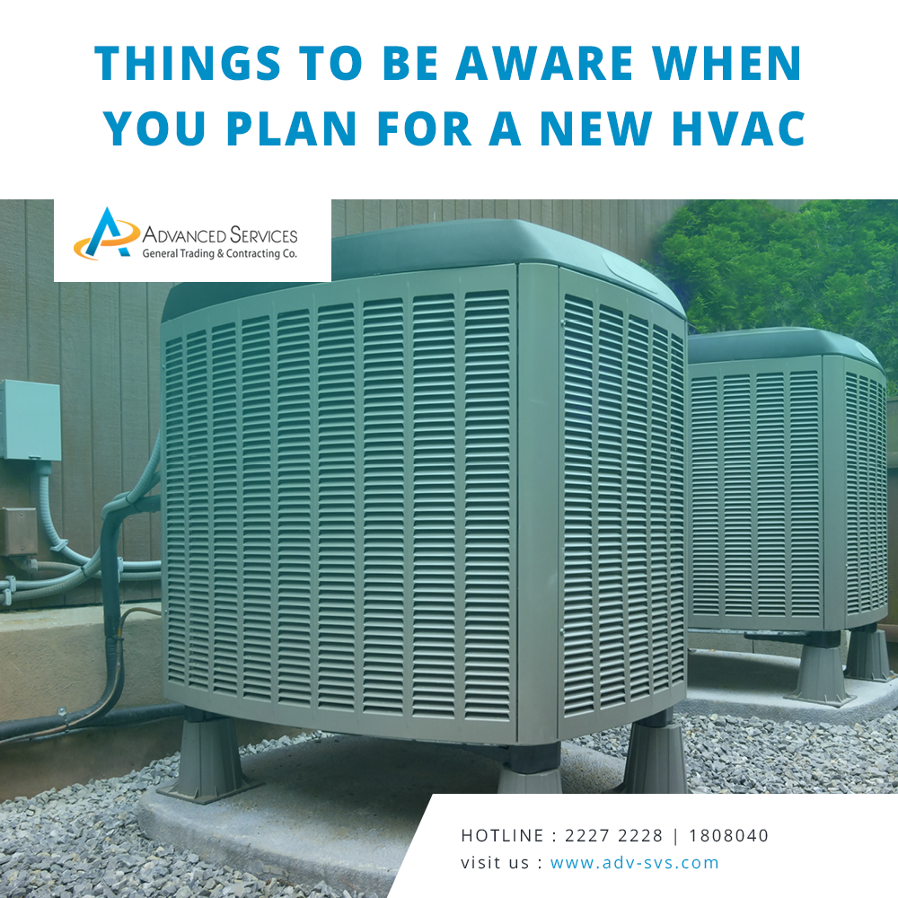 Things to be aware when you plan for a new HVAC