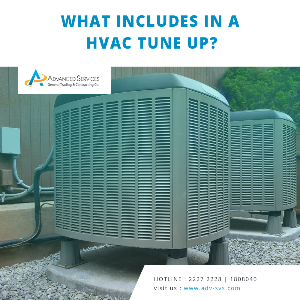 What includes in a HVAC tune up