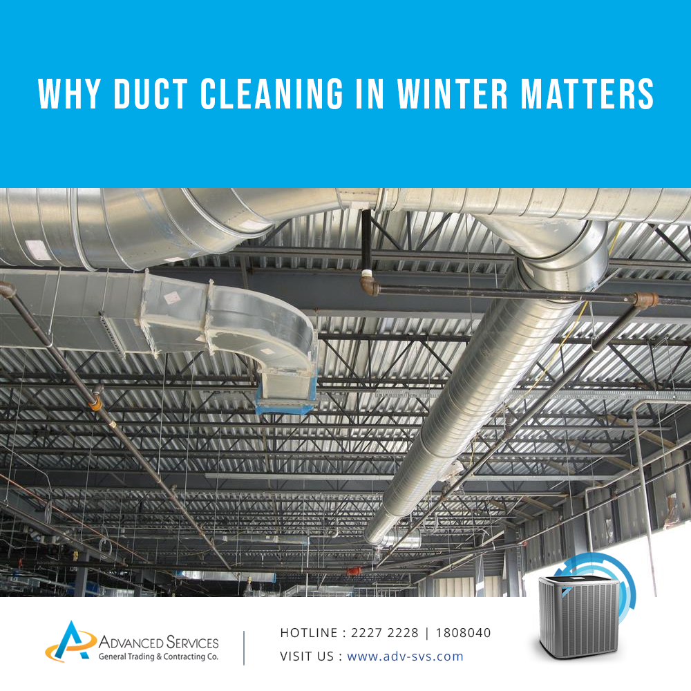 Why duct cleaning in winter matters