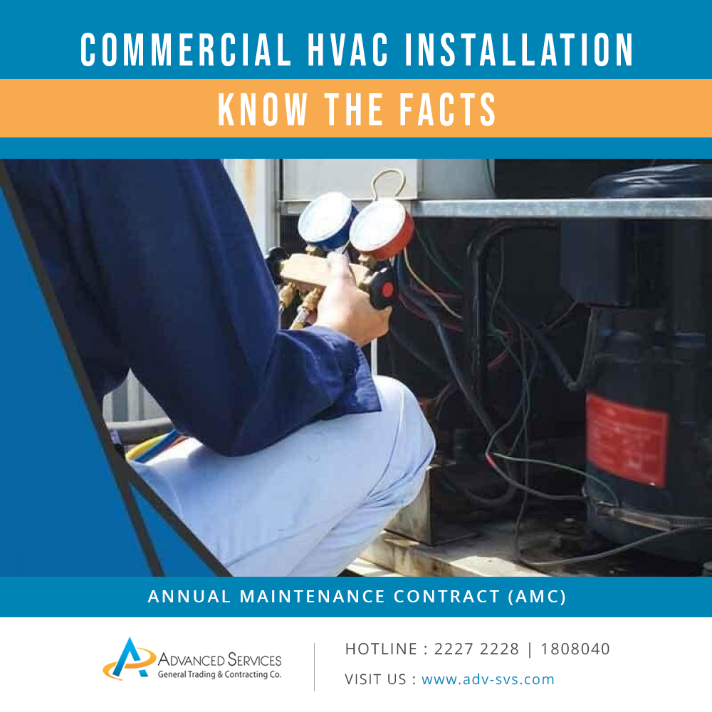 Commercial HVAC Installation –Know the facts