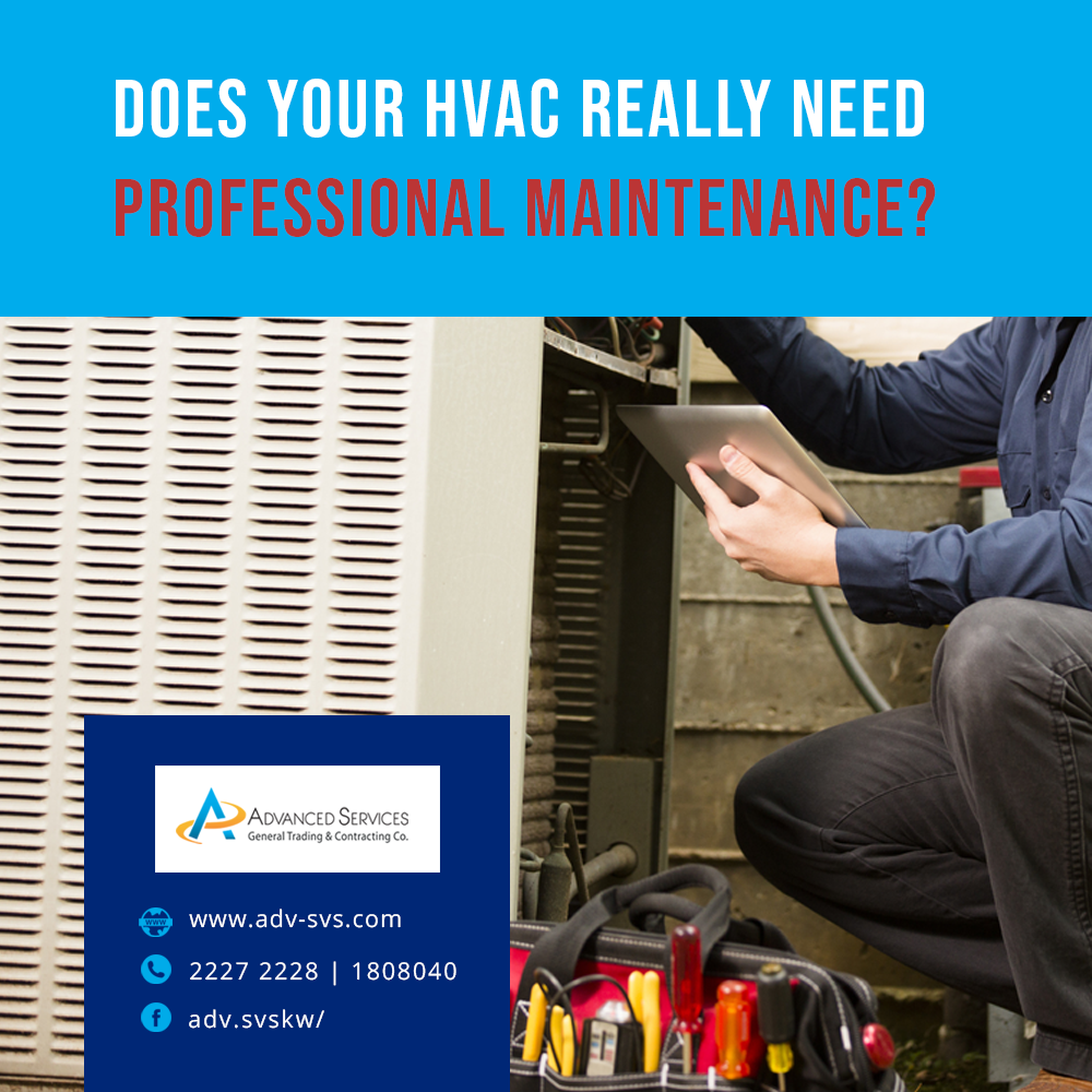 Does your HVAC really need professional maintenance